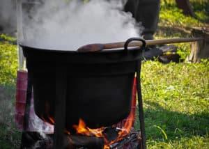 Gulaschkessel aus Eisen